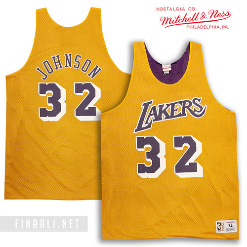 LA Lakers Magic Johnson Reversible Mesh Tank