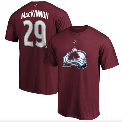 Colorado Avalanche Nathan MacKinnon t-paita