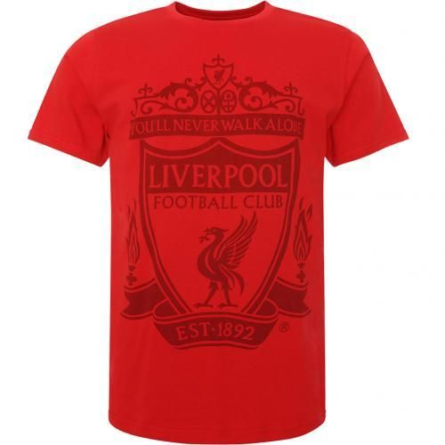 Liverpool FC Crest T-Shirt Red