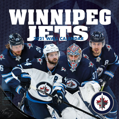 Winnipeg Jets Wall Calendar 2021