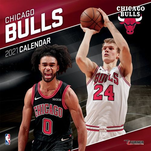 Chicago Bulls Wall Calendar 2021