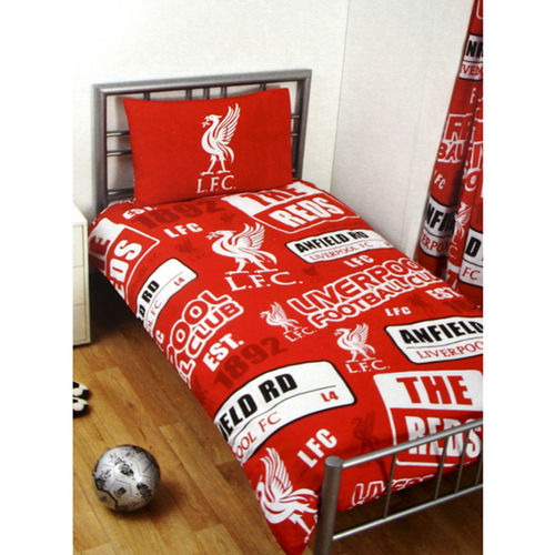Liverpool Single Duvet Set